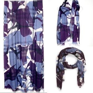 Burberry Painted Camo Scarf